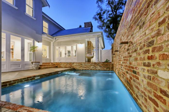 Elegant Salter Point home with classic white timber features