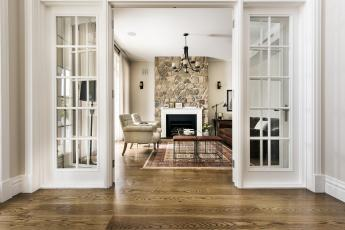 Solid timber French doors by Cedar West
