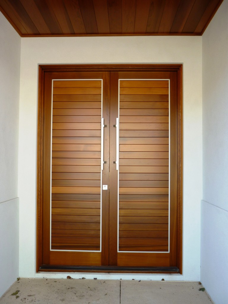 Kingston tongue and groove timber door