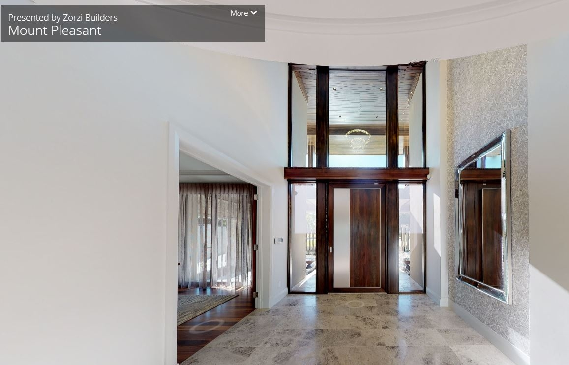 Experience a 3D Virtual Tour of The Residence