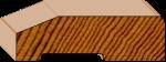 Splayed Skirting (Small)