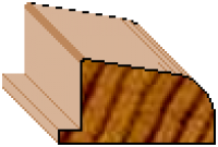 Glazing Bead-Stepped (For Gate Section)