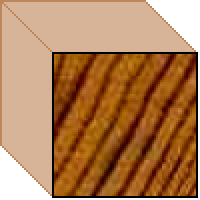 Prefinished Cedar Trim - 18 x 18 Square Dressed