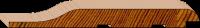 Cedar Cladding -Premium Radiused