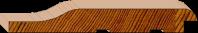 Cedar Cladding -Premium Radiused Knotty