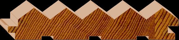 Ridgestyle - 135mm Lining/Cladding